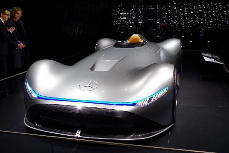 Mercedes EQ Silver Arrow Mondial 2018 2