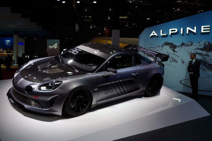 Mondial Paris 2018 Alpine A110 1