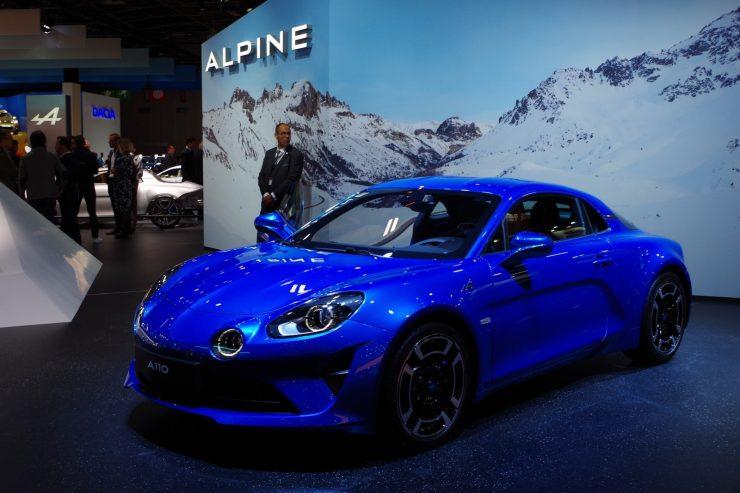 Mondial Paris 2018 Alpine A110 2