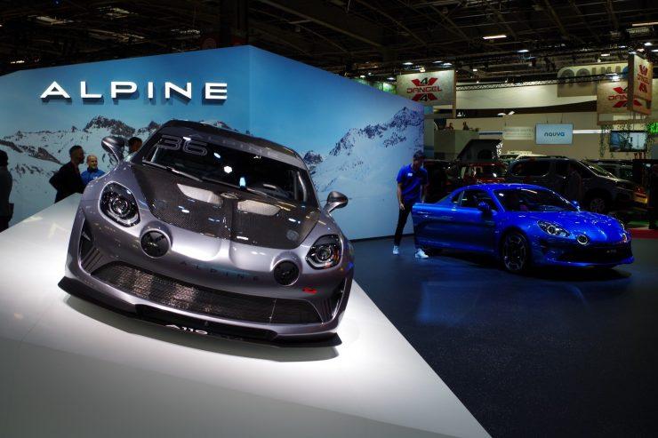 Mondial Paris 2018 Alpine A110 5
