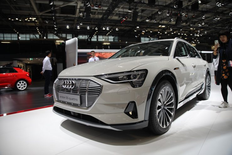 Mondial Paris 2018 Audi e Tron 18
