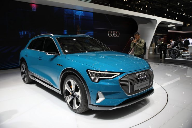 Mondial Paris 2018 Audi e Tron 2