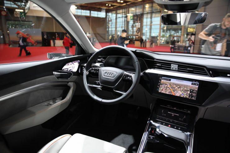 Mondial Paris 2018 Audi e Tron 22