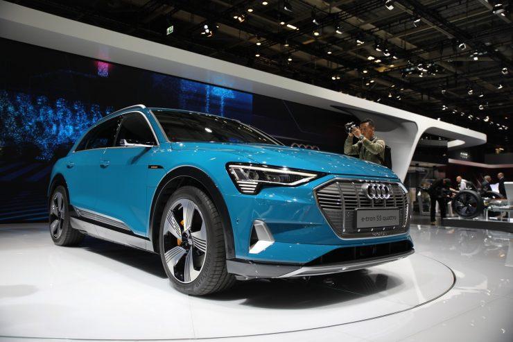 Mondial Paris 2018 Audi e Tron 3