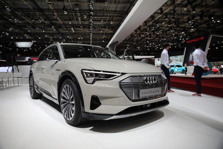 Mondial Paris 2018 Audi e Tron 8
