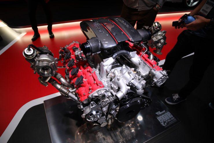 Mondial Paris 2018 Ferrari 488 Pista 1