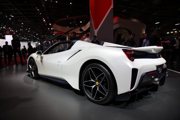 Mondial Paris 2018 Ferrari 488 Pista 14