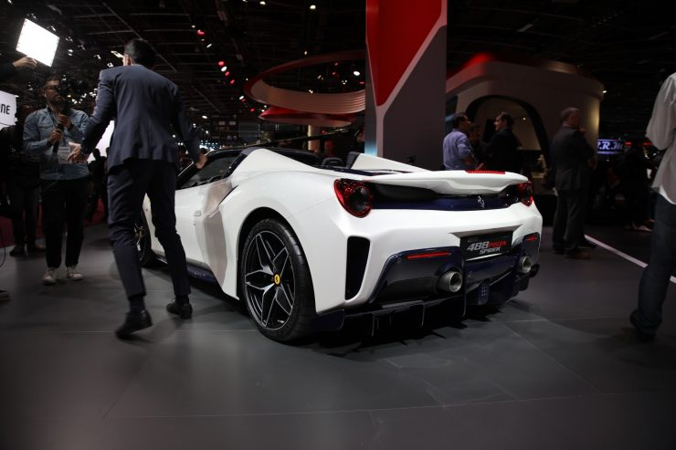 Mondial Paris 2018 Ferrari 488 Pista 2