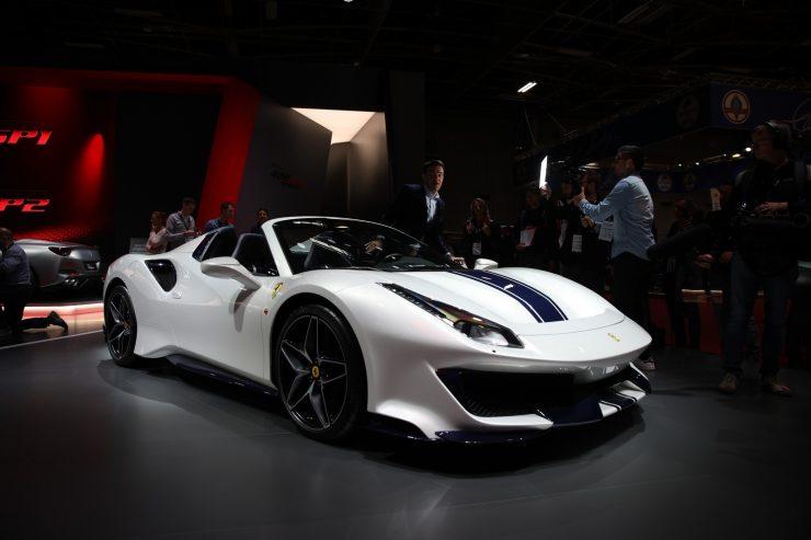 Mondial Paris 2018 Ferrari 488 Pista 7