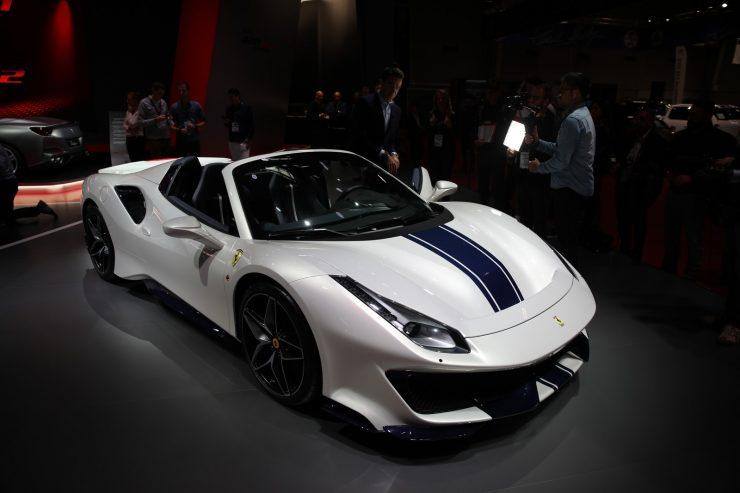 Mondial Paris 2018 Ferrari 488 Pista 8