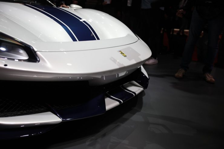 Mondial Paris 2018 Ferrari 488 Pista 9