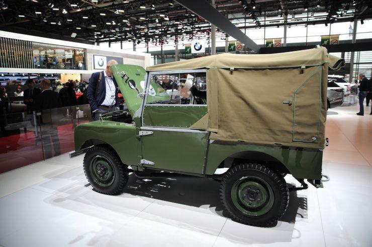 Mondial Paris 2018 Land Rover Serie 1 Reborn 4