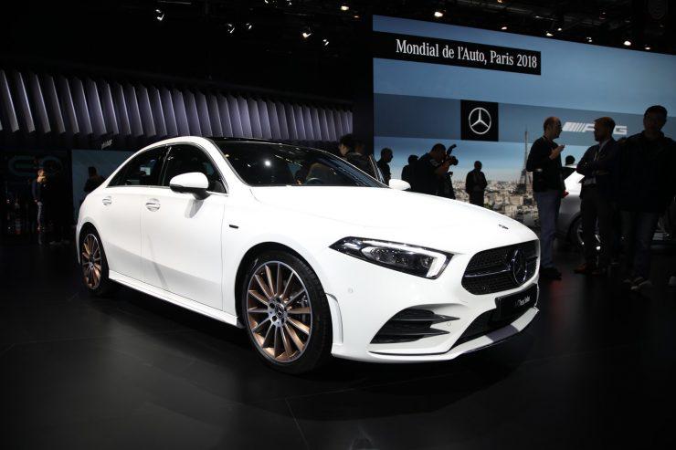 Mondial Paris 2018 Mercedes Classe A Berline 1