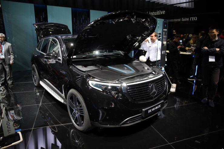 Mondial Paris 2018 Mercedes EQC 1