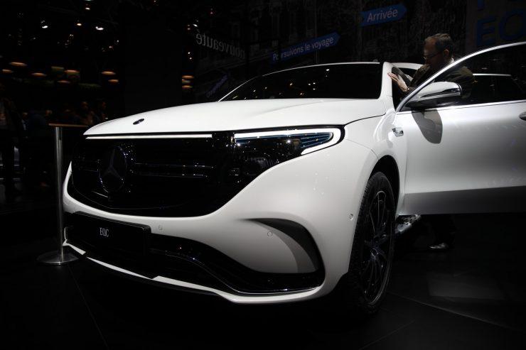 Mondial Paris 2018 Mercedes EQC 16