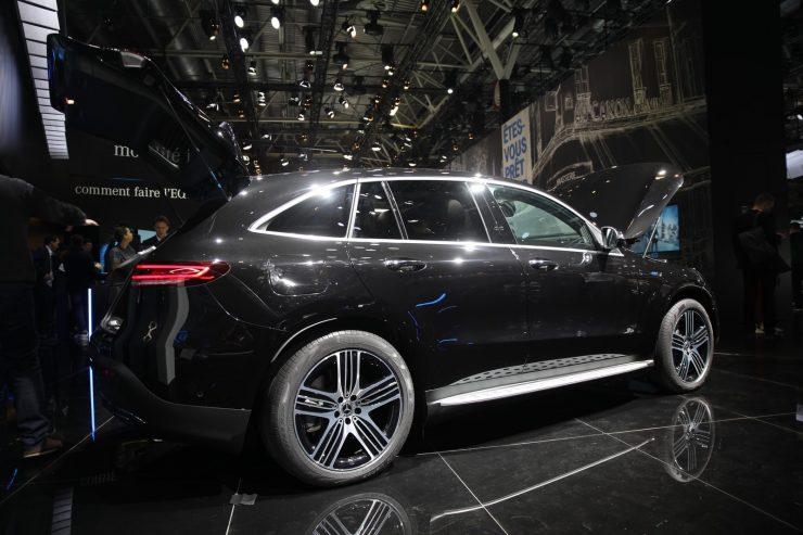 Mondial Paris 2018 Mercedes EQC 4