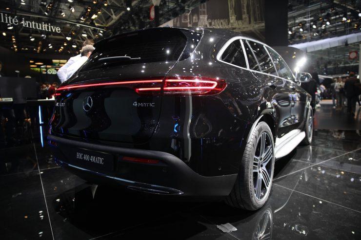 Mondial Paris 2018 Mercedes EQC 6