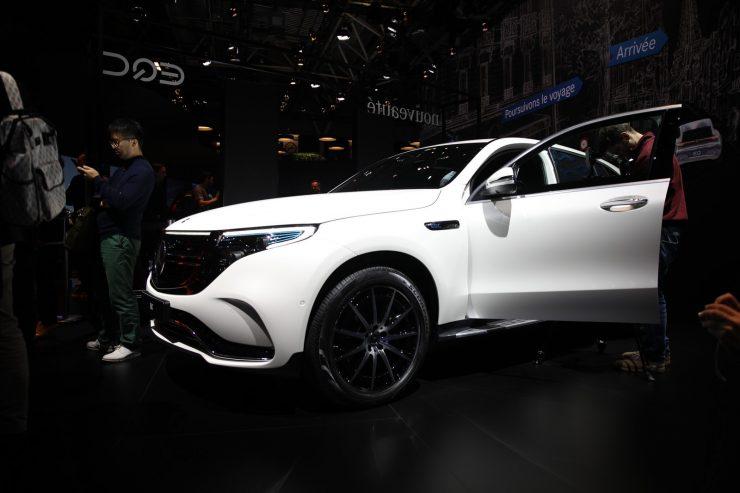 Mondial Paris 2018 Mercedes EQC 9