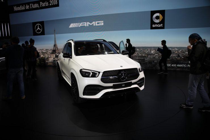 Mondial Paris 2018 Mercedes GLE 2
