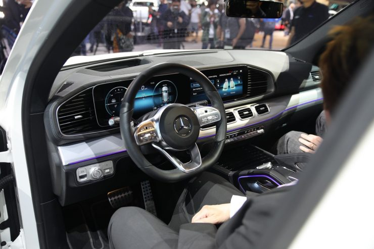 Mondial Paris 2018 Mercedes GLE 7