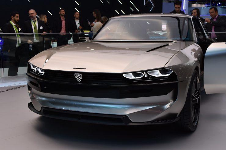 Mondial Paris 2018 Peugeot e legend Concept 3