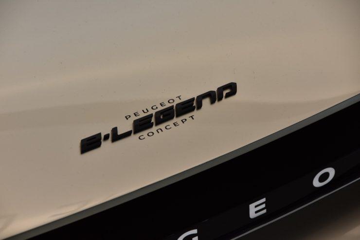 Mondial Paris 2018 Peugeot e legend Concept 6