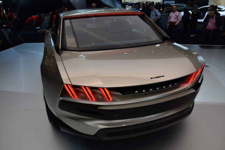 Mondial Paris 2018 Peugeot e legend Concept 9