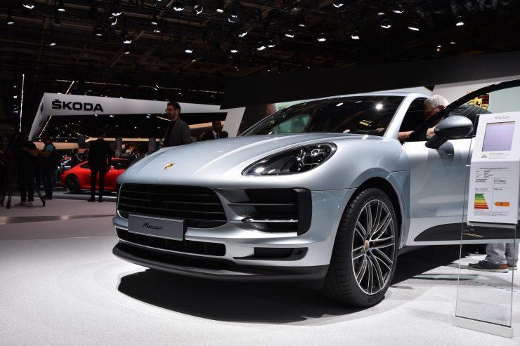 Mondial Paris 2018 Porsche Macan 9
