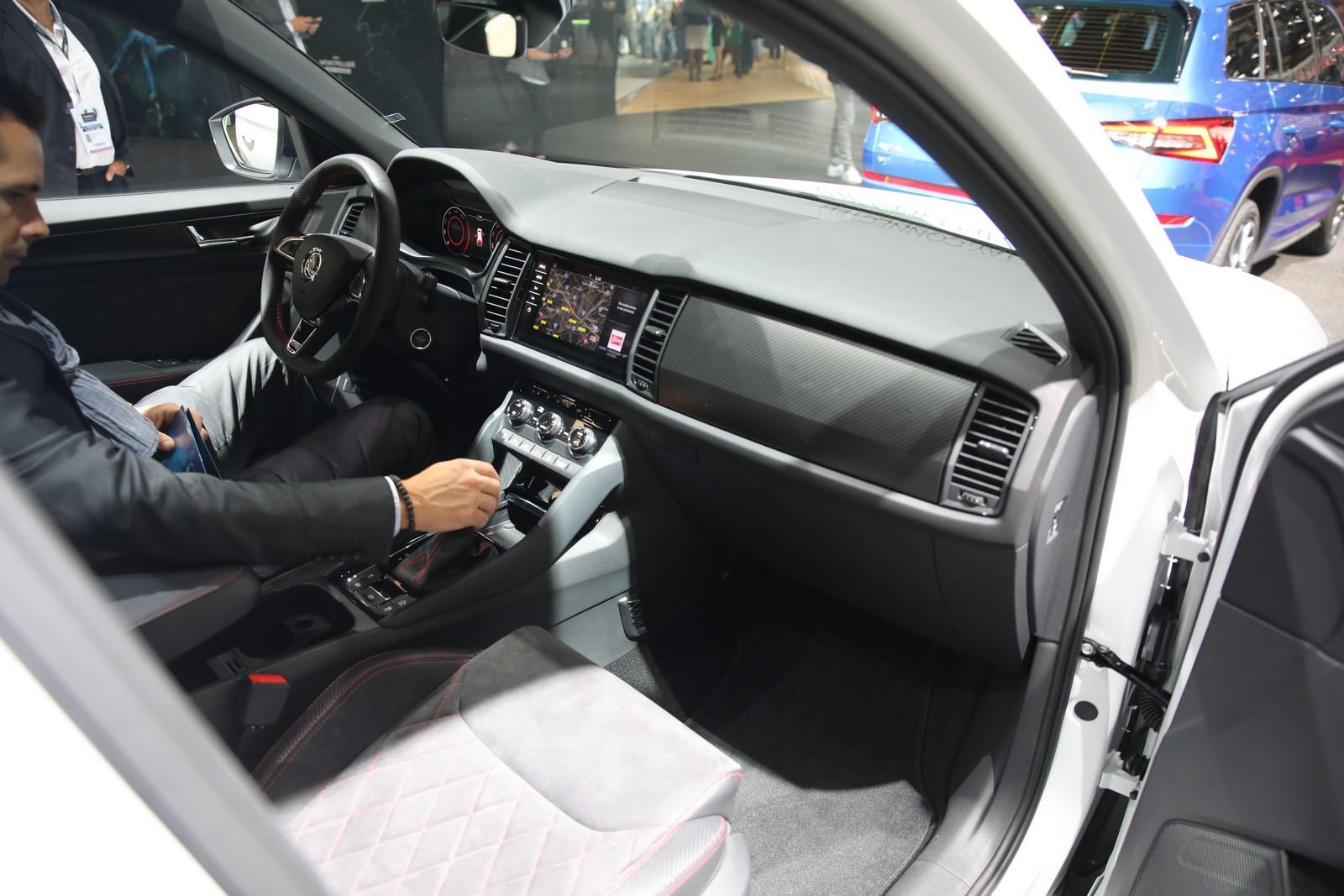 Mondial Paris 2018 Skoda Kodiaq RS 8