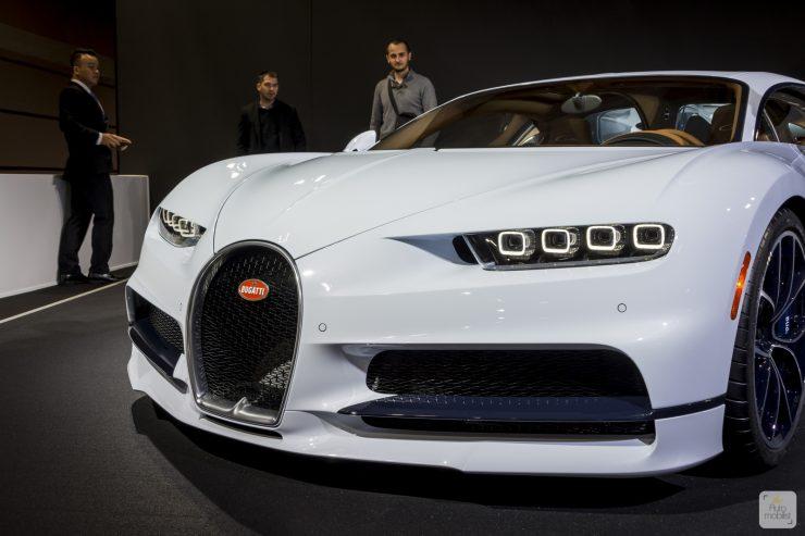Mondial de Paris 2018 Bugatti