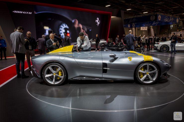 Mondial de Paris 2018 Ferrari 46