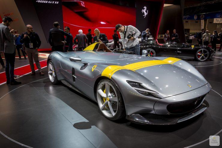 Mondial de Paris 2018 Ferrari 47