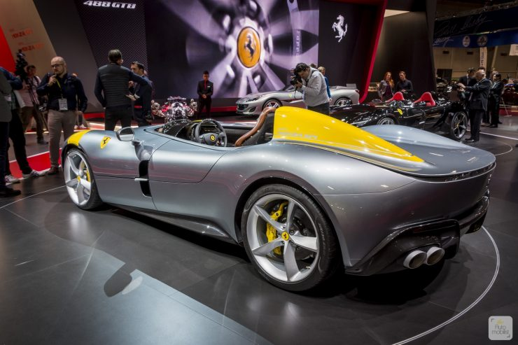 Mondial de Paris 2018 Ferrari 50