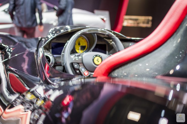 Mondial de Paris 2018 Ferrari 68