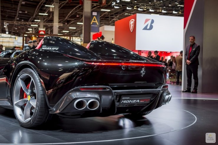 Mondial de Paris 2018 Ferrari 74