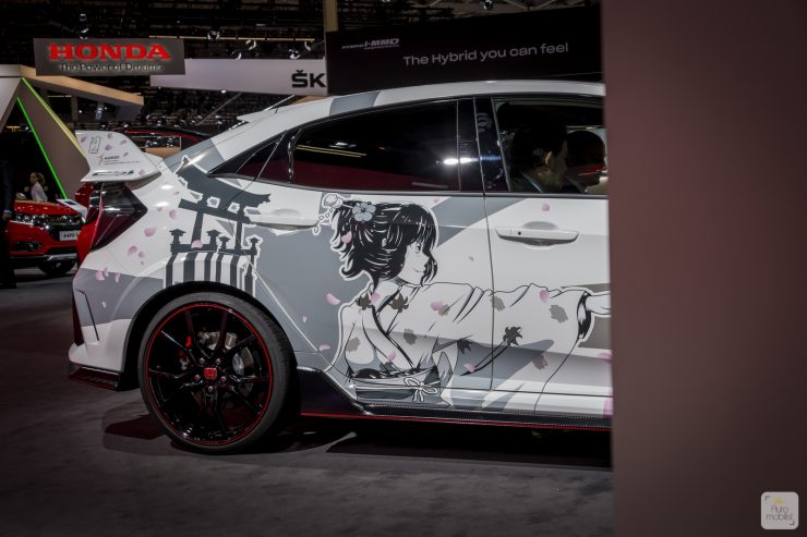 Mondial de Paris 2018 Honda 31