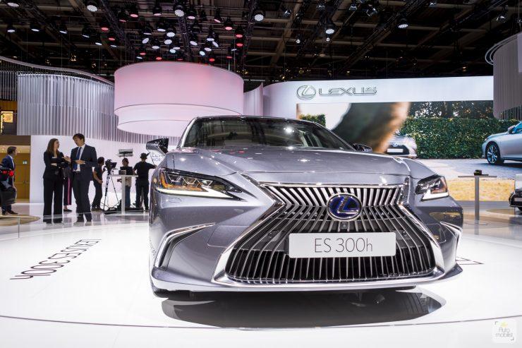 Mondial de Paris 2018 Lexus 1