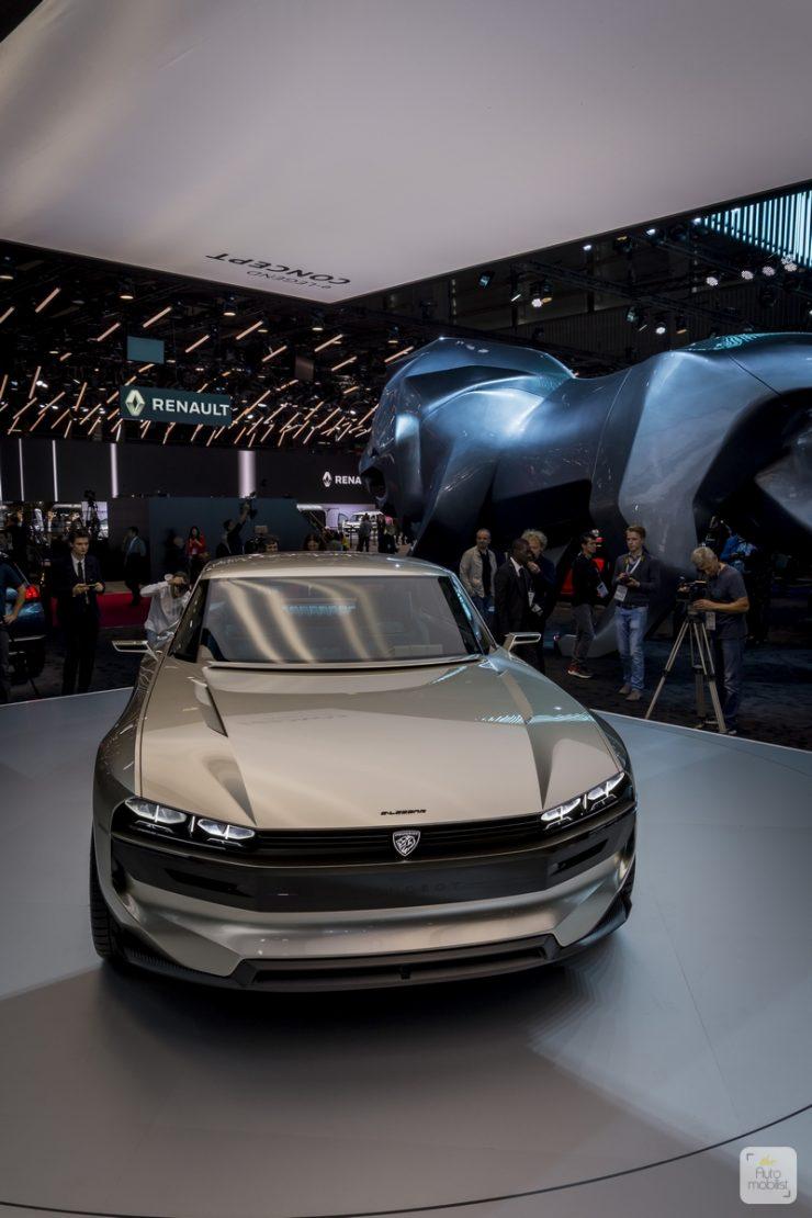 Mondial de Paris 2018 Peugeot 16