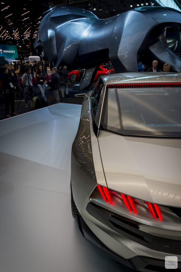 Mondial de Paris 2018 Peugeot 9