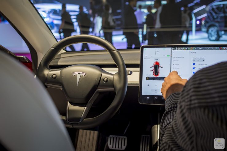 Mondial de Paris 2018 Tesla 9