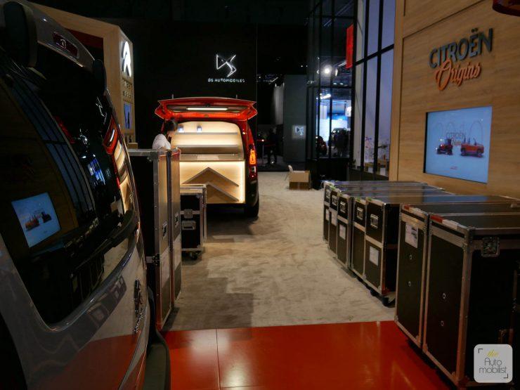Mondial 2018 Demontage La Maison Citroen 20