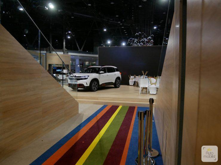 Mondial 2018 Demontage La Maison Citroen 45