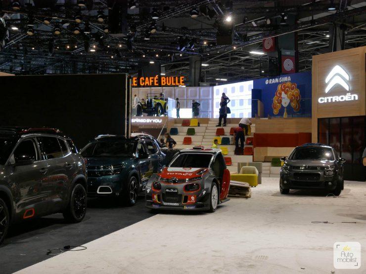 Mondial 2018 Demontage La Maison Citroen 66