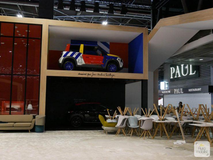 Mondial 2018 Demontage La Maison Citroen 69
