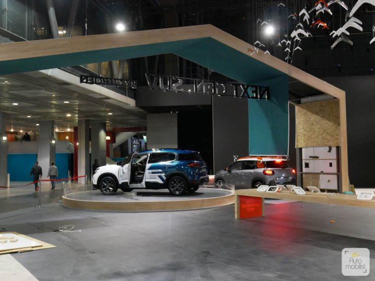 Mondial 2018 Demontage La Maison Citroen 70