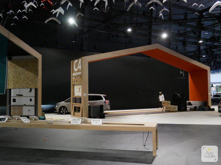 Mondial 2018 Demontage La Maison Citroen 72