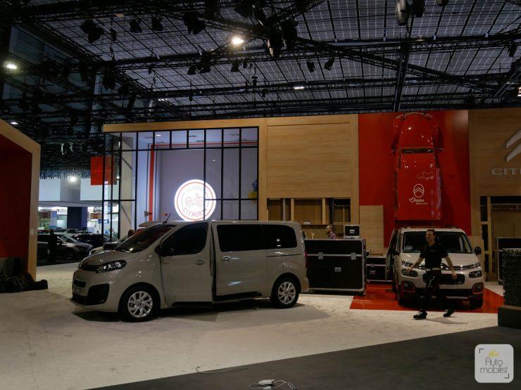 Mondial 2018 Demontage La Maison Citroen 73