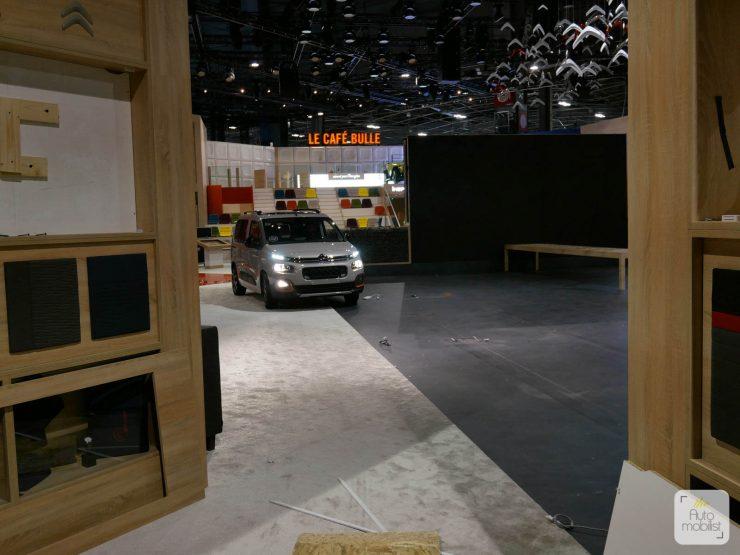 Mondial 2018 Demontage La Maison Citroen 76