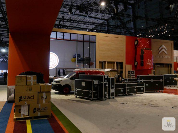 Mondial 2018 Demontage La Maison Citroen 81