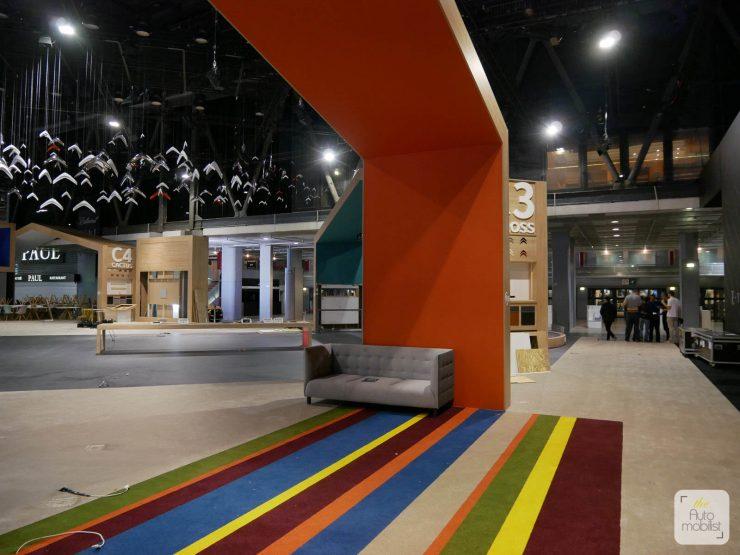 Mondial 2018 Demontage La Maison Citroen 84